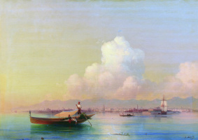 Ivan Aivazovsky. Venice by the Lido