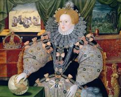 Шедевры  неизвестных художников. Портрет королевы Елизаветы I «Непобедимая армада»