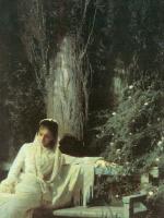 Иван Николаевич Крамской. Лунная ночь. Фрагмент
