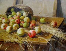 Натюрморт с яблоками. 1909