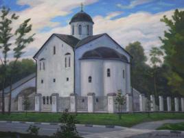 Vladimir Fedorovich Yakunin. Church of the Transfiguration