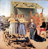 Пьеро делла Франческа. Рождество Христово