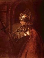 Рембрандт Харменс ван Рейн. Мужчина в доспехах