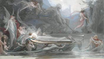 Похороны нимфы