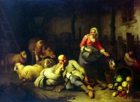 Франческо Лондонио. Крестьянская семья