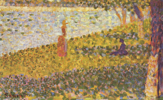 Georges Seurat. Women on the shore