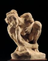 Огюст Роден. Женщина, сидящая на корточках