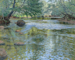 Николай Петрович Богданов-Бельский. Река