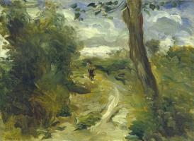 Pierre-Auguste Renoir. Landscape between two thunderstorms