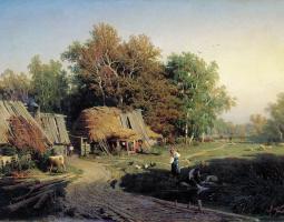 Фёдор Александрович Васильев. Деревня