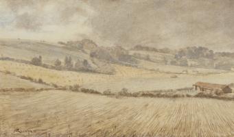 Arthur Rackham. Landscape