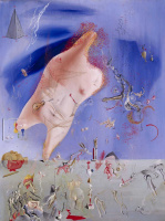 Salvador Dali. Small remains