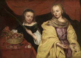 Микаэлина Вотье. Святые Агнеса и Доротея