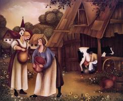 Раджка Купесик. Пасторальная весна