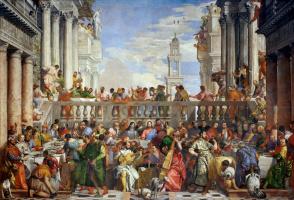 Паоло Веронезе. Свадьба в Кане Галилейской