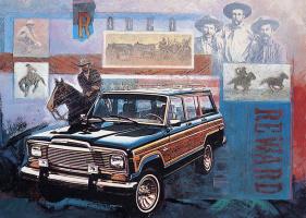 Алан Маззетти. Авто