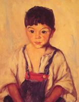Роберт Генри. Цыганский мальчик