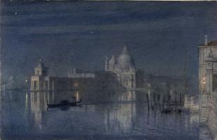 Edward John Poynter. Moonlight in Venice