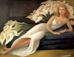 Diego Maria Rivera. Portrait Of Natasha SKOLKOVO, Geltman