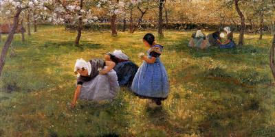Теодор Верстрет. Весна в Зеландии