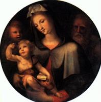 Доменико Беккафуми. Мадонна с младенцем
