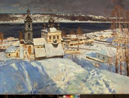 Василий Васильевич Куракса. Plyos on the Volga