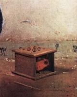 Jan Vermeer. Thrush. Fragment