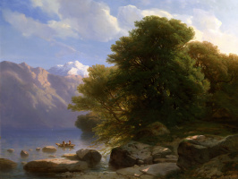 Александр Калам. Озеро Тун