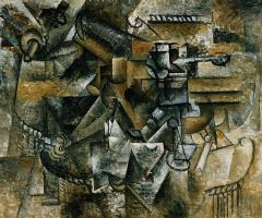 Пабло Пикассо. Бокал абсента