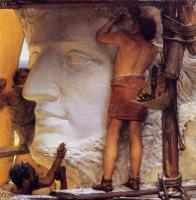 Лоуренс Альма-Тадема. Скульпторы в Древнем Риме