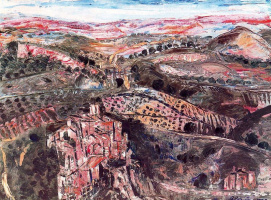 Бенджамин Паленсия. Вид на поселок