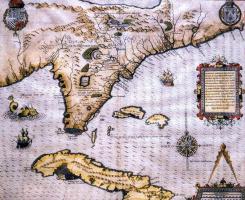 Теадор Де Бри. Карта