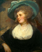 George Romney. Lady Arabella Ward