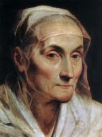 Гвидо Рени. Портрет пожилой женщины