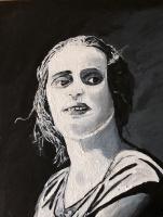 Nikita Chugunov. Ayn Rand (free copy of work by Robert Tracy)