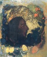 Одилон Редон. Портрет Поля Гогена