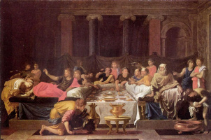 Nicola Poussin. The last supper