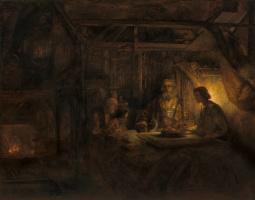 Рембрандт Харменс ван Рейн. Филемон и Бавкида