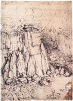 Леонардо да Винчи. Пещера с утками