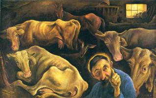 Альберт Биркл. Коровы