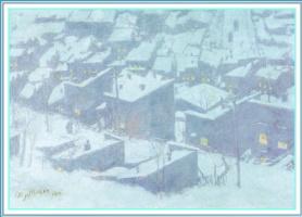 Эдвард Тимоти Херли. Снег