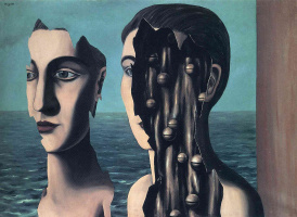 Rene Magritte. Double mystery
