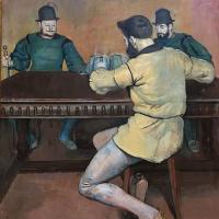 Фердинанд Ходлер. Пьяницы