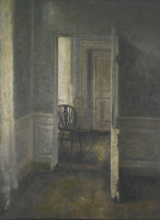Вильгельм Хаммерсхёй. Интерьер с виндзорским стулом