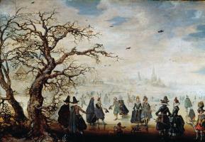 Адам ван Брин. Зимние радости