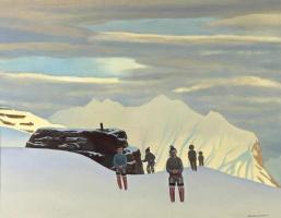 Рокуэлл Кент. Возвращение охотников. Северная Гренландия