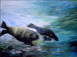 Диана Смит. Подводные игры
