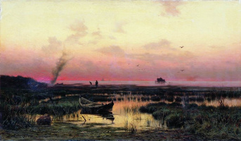 Efim Efimovich Volkov. The evening