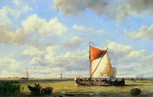 Герман Куккук. Парусные лодки