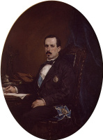 Франсиско Доминго Маркиз. Портрет министра  развития